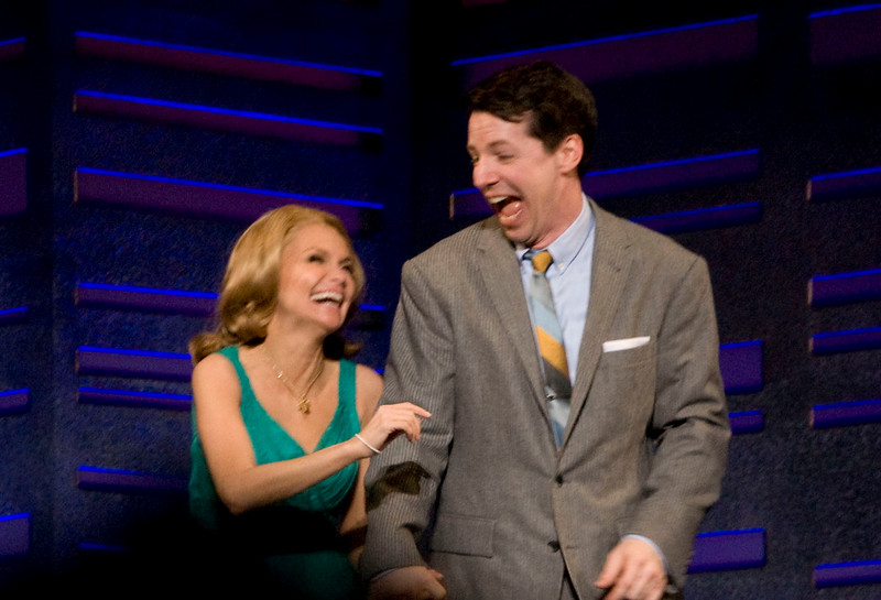 121/365 01May10<br /> Kristen Chenoweth and Sean Hayes in Promises, Promises.  Really enjoyed this show and had a good time. And as you can see, so did the actors.