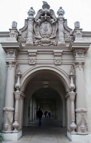 132/365<br /> Balboa Park. Colonnade to the Globe Theater.
