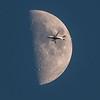Delta Flight 5870 and Moon