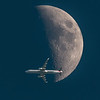 American Airlines Flight 1105 and Moon