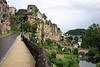 Along the Rue Sosthene Weis (street) - to the Bock Promontory and Casemates at the Plateau Altmunster - with the Alzette River below