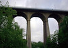 """Passerelle Bridge or Luxembourg Viaduct (also called the """"Old Bridge"""") - a total height of 148 ft. (45 m), from the Pétrusse Valley - Luxembourg City"""
