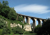 """From the Pétrusse Valley and casemates (stone tunnels) openings - up to the Passerelle Bridge or Luxembourg Viaduct (also called the """"Old Bridge"""") - Luxembourg City"""