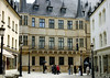 Down the Rue de la Reine (street) - to the Grand Ducal Palace (residence of the Grand Duke of Luxembourg) - Luxembourg City