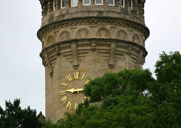 Clock tower for the State Savings Bank's head office - Luxembourg City