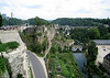 Bock - the original rock promontory above the Alzette River, where Count Siegfried, constructed his Castle of Luchilinbruch, back in 963, providing the origination of present day Luxembourg City