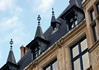Gargoyles, spires, and chimney stacks - Grand Ducal Palace (residence for the Grand Duke of Luxembourg) - Luxembourg City