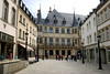 Down the Rue de la Reine (street) - to the Grand Ducal Palace (residence of the Grand Duke of Luxembourg, the sovereign monarch and head of state of Luxembourg) - Luxembourg City