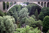 From the Pétrusse Valley - to the Adolphe Bridge, also called the New Bridge - Luxembourg City