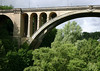 Adolphe Bridge, also called the New Bridge (the southern arch) - Luxembourg City