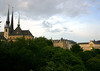 Across the Pétrusse Valley - to the Cathedral to the Blessed Virgin - also called Church of Our Lady - Luxembourg City