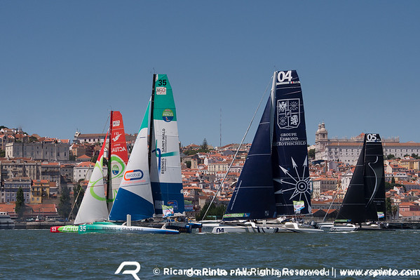 Day 2 of the Inshore Races at Route des Princes - Lisbon Stopover