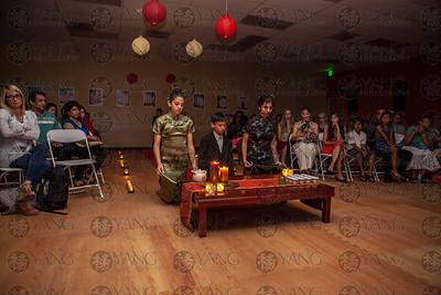 Martial Arts World black belt tea ceremony