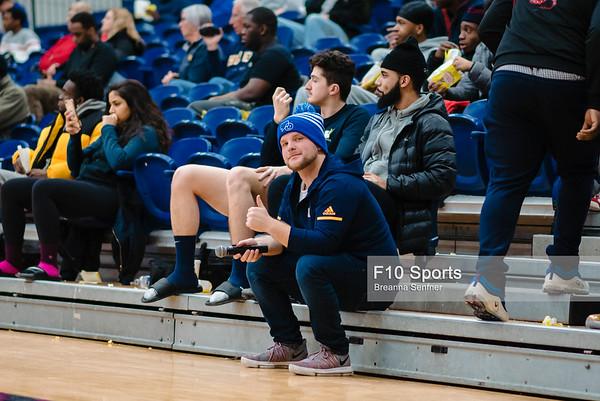 TORONTO, CANADA - Jan 24: during OCCA Mens Basketball Matchup between WBB Humber Hawks vs Conestoga at Humber Hawks Athletics Center. Photo: Michael Fayehun/F10 Sports Photography