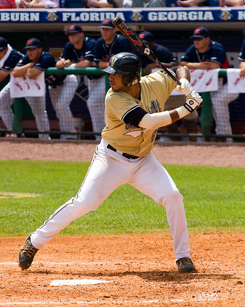 Pedro Alvarez at the plate.