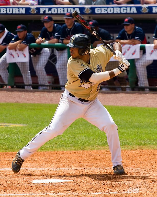 Pedro Alvarez at the plate.