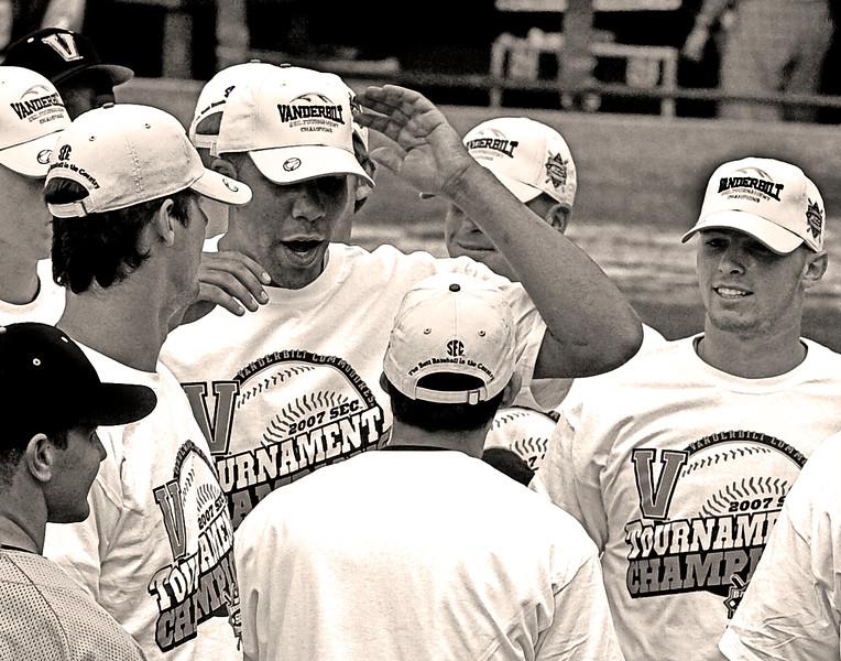 Shea Robin, David Price and the 2007 Vandy SEC Champion Baseball Team