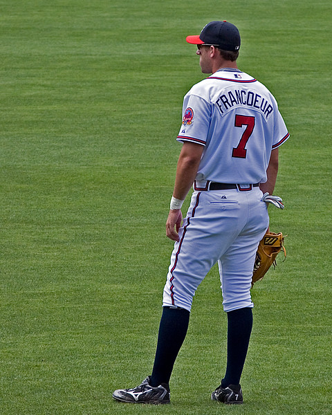 Atlanta Braves' Jeff Francoeur in right field