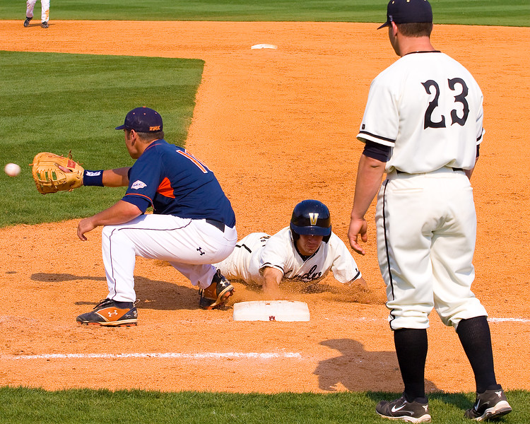 Vandy's Blake Allen coaching first as Auburn's pickoff comes too late.