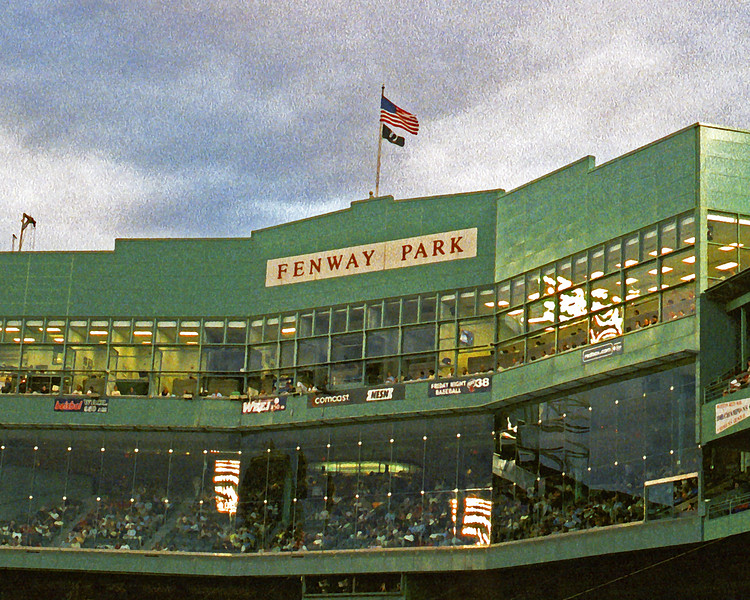 Fenway Park (art effect)