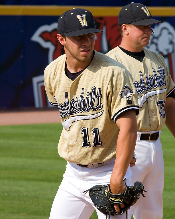 Nick Christiani throwing strong again this year for Vandy