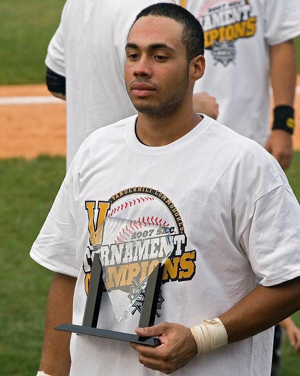 1st Team All American Pedro Alvarez from Vanderbilt SEC Tournament MVP