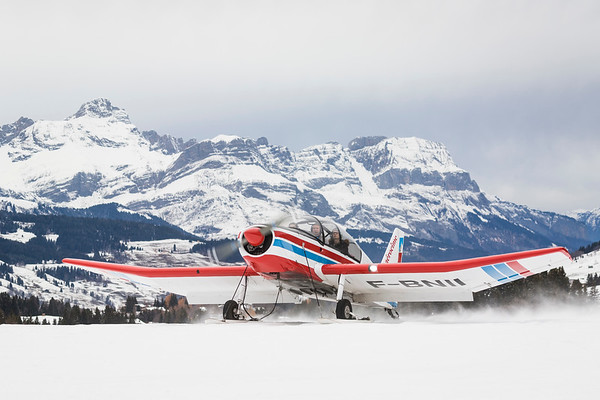 Megève Airport / France