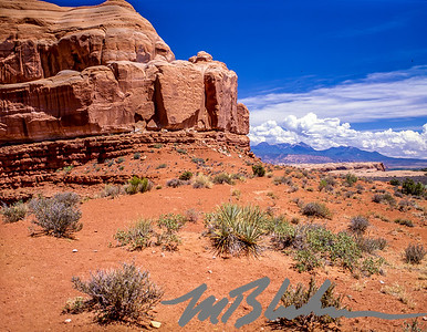 Rock formation in Canyonlands National Park, Utah