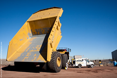 Coal Dump Truck in the Powder River Basin