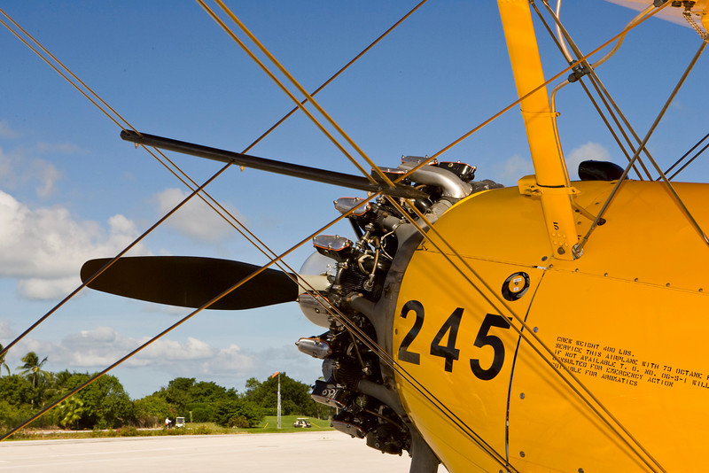 Ocean Reef Antique Aircraft Fly In Steerman