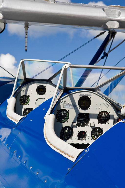 Ocean Reef Antique Aircraft Fly In Biplane Cockpits