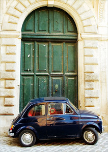 Fiat in Doorway