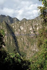Andes mountains near Machu Picchu, Peru