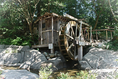 Old water wheel found inside the Capilano Suspension Bridge Vancouver, British Columbia, Canada   © Copyright Hannah Pastrana Prieto