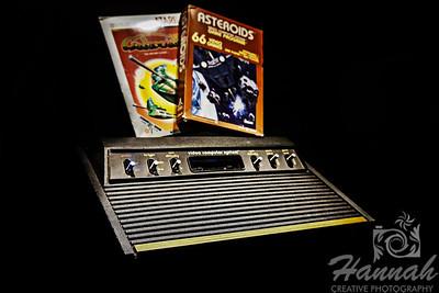 Atari Game Console  © Copyright Hannah Pastrana Prieto