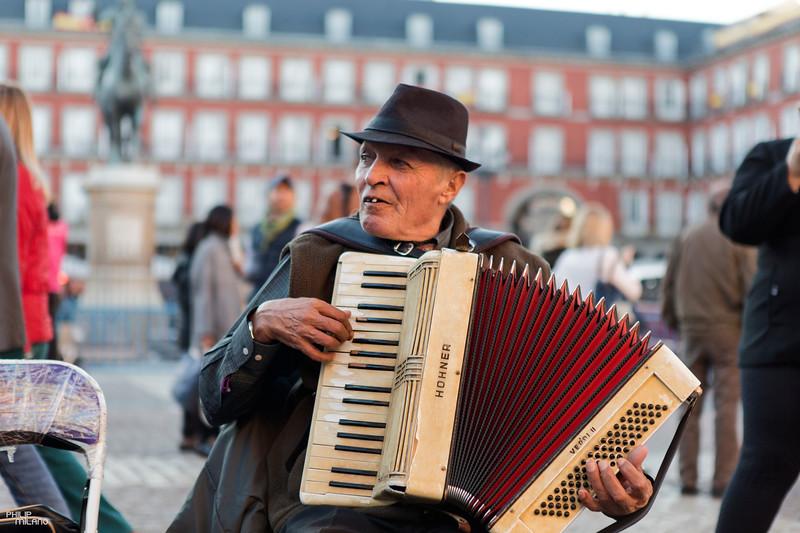 Plaza Mayor Street Performance