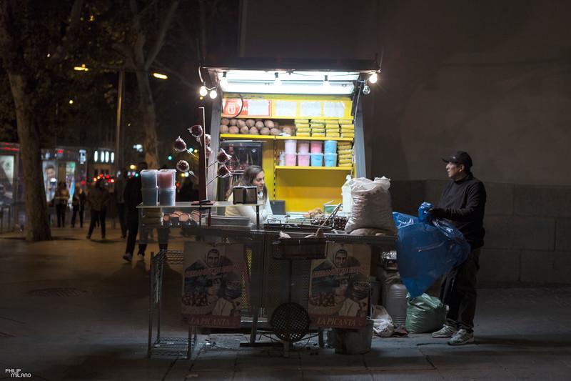 Madrid Street Vendor