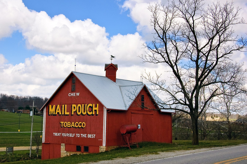 Red Mail Pouch Barn