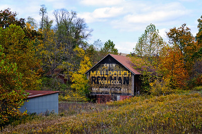 Mail Pouch and Redman Tobacco Barn
