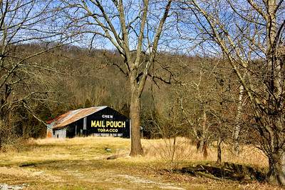 Wide Mail Pouch Barn