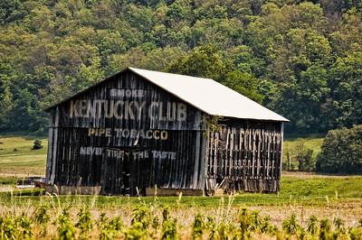 Kentucky Club Tobacco Barn