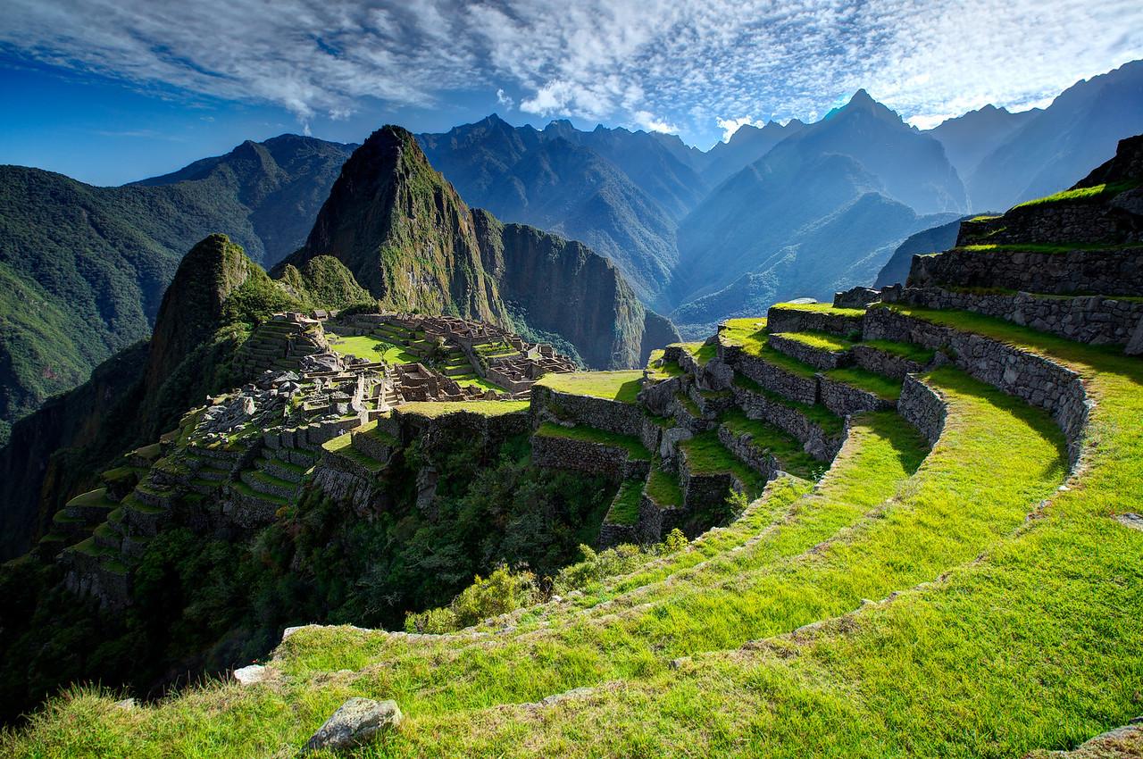 Machu Picchu & Terraces