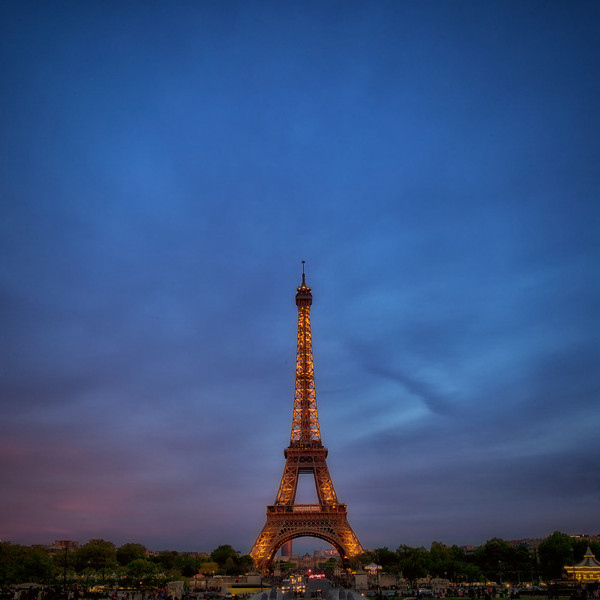 Eiffel Tower - Sunset