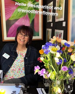 These lovely blooms came from Katie Toon and her flower farm, Woodbine Flowers. Check her out on instagram for pop-ups around Fort Worth.