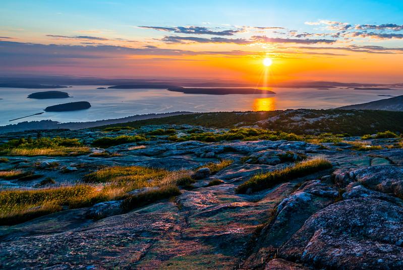 Mt. Desert Island first light
