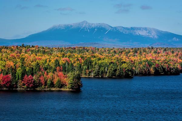 Mount Katahdin fall colors, Baxter State Park