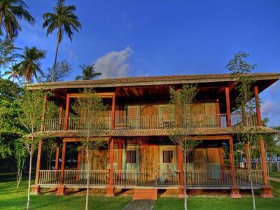 Chinese House at Sunset, Temple Tree Resort, Langkawi