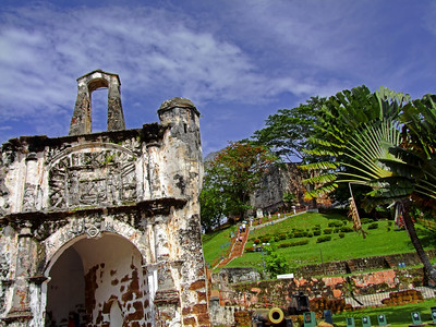 A Famosa Portuguese Fortress 1511, Malacca
