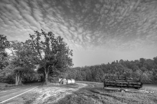 Round Bales - Via Oliveto, Albinea, Reggio Emilia, Italy - October 21, 2012