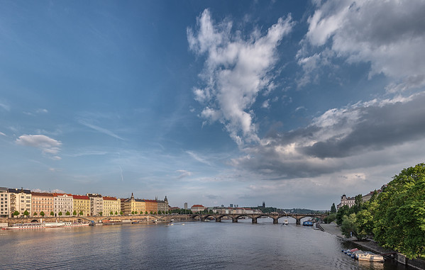Palacký Bridge - Prague, Czech Republic - May 18, 2019